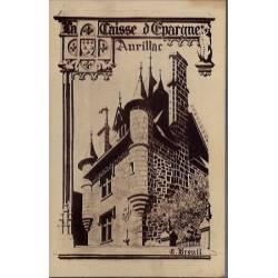 15 - Aurillac - Caisse d'épargne d'Aurillac fondée en 1833 - Rue Marcenague ...