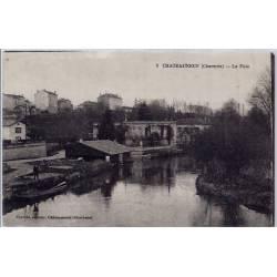 16 - Châteauneuf - La Fuie - Voyagé - Dos divisé...