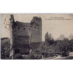 16 - Périgueux - La tour et les jardins de Vésone - Voyagé - Dos divisé...