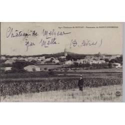 17 - Environs de Royan - panorama de Saint-Georges - Voyagé - Dos divisé...