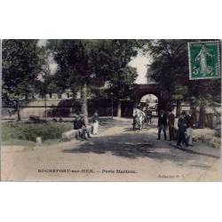17 - Rochefort-sur-Mer - Porte Martrou - Voyagé - Dos divisé...