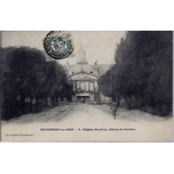 17 - Rochefort-sur-Mer - Hôpital Maritime, entrée du pavillon - Voyagé - Dos...