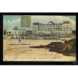 35 - Dinard - L'Hotel royal et la plage