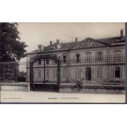 18 - Bourges - Ecole d' Artillerie - Non voyagé - Dos non divisé...