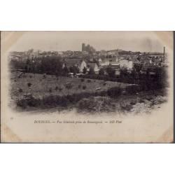 18 - Bourges - Vue générale, prise de Beauregard - Non voyagé - Dos non divi...