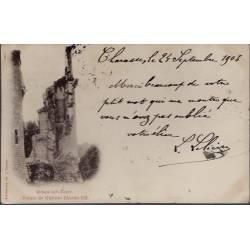 18 - Mehun-sur-Yèvre - Ruines du château Charles VII - Voyagé - Dos non divi...