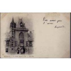 18 - Bourges - Le Palais Jacques Coeur - Voyagé - Dos non divisé...
