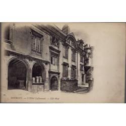 18 - Bourges - L' Hôtel Lallemand - Voyagé - Dos non divisé...