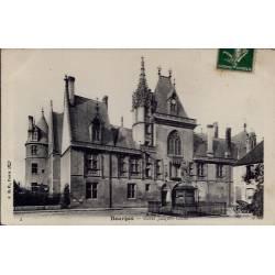 18 - Bourges - Hôtel Jacques Coeur - Voyagé - Dos divisé...