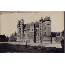18 - Bourges - Le Palais Jacques Coeur - Non voyagé - Dos divisé...