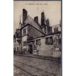 18 - Bourges - Hôtel Cujas - Musée - Voyagé - Dos divisé...