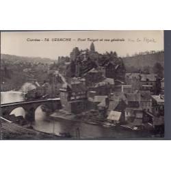 19 -Uzerche - Pont Turgot et vue générale sur la vézère - Non voyagé - Dos d...
