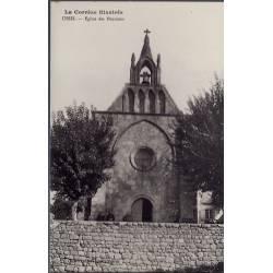 19 - Ussel - Eglise des Pénitents - Non voyagé - Dos divisé...