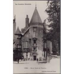19 - Ussel - Maison Ducale des Ventadour - Voyagé - Dos divisé...