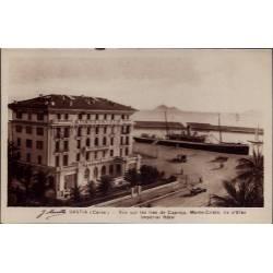 20 -Bastia - Vue sur les iles de Capraja - Monte-cristo - Ile d' Elbe impéri...
