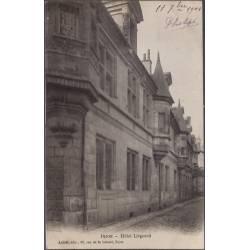 21 - Dijon - Hôtel Liégeard - Voyagé - Dos non divisé...