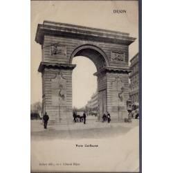 21 - Dijon - Porte Guillaume - Voyagé - Dos divisé...
