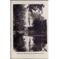 21 - Senailly - Château de Senailly par Montbard - Non voyagé - Dos divisé...