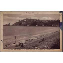 22 - Val-Andre - Pla plage côté Nord et la falaise de Château-Tanguy- Voyagé...