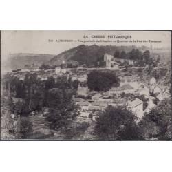 23 - Aubusson - Vue générale du Chapitre et quartier de la rue des Tanneurs...