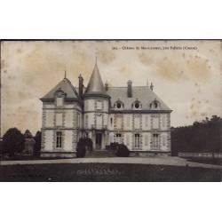 23 - Près Felletin - château du Mas-Laurent - Non voyagé - Dos divisé...