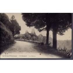23 - Crozant - les ruines - Non voyagé - Dos divisé...