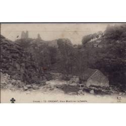 23 - Crozant - Vieux moulin sur la Cedelle - Non voyagé - Dos non divisé...