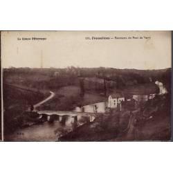 23 - Fresselines - Panorama du Pont de Vervy - Non voyagé - Dos divisé...