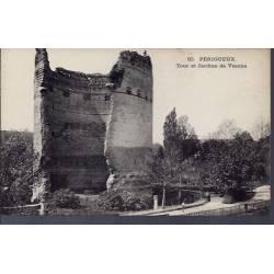 24 - Périgueux - Tour et jardins de Vésone - Non voyagé - Dos divisé...