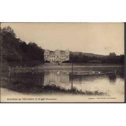 24 - Château de Trélissac - Non voyagé - Dos divisé...
