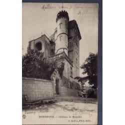 24 - Dordogne - Château de Monclar - Voyagé - Dos non divisé...