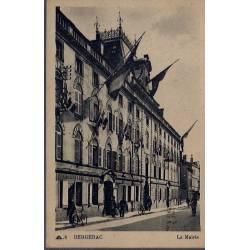 24 - Bergerac - La Mairie - Voyagé - Dos divisé...