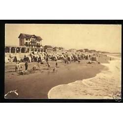 40 - Capbreton - La plage à maree montante