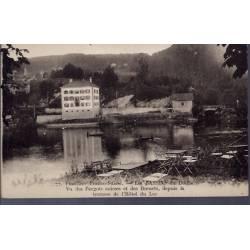 25 - Frontière Franco-Suisse - les Bassins du Doubs - Vu des Pargots suisse...