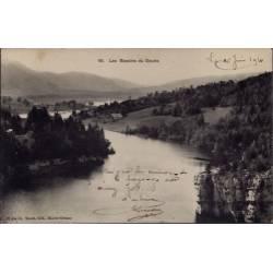 25 - Les Bassins du Doubs - Voyagé - Dos divisé...