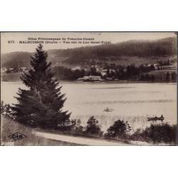 25 - Malbuisson - Vue sur le Lac Saint-Point - Voyagé - Dos divisé...