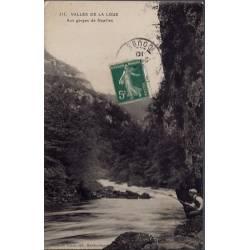 25 - Vallée de La Loue aux gorges de Noailles - Voyagé - Dos divisé...