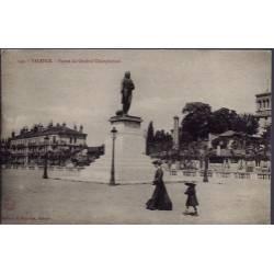26 - Valence - Statue du général Championnet - Voyagé - Dos divisé...