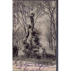 26 - Valence - Monument Louis Gallet  - Voyagé - Dos divisé...