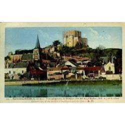 41 - MONTRICHARD - VUE GENERALE - LE DONJON