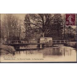 27 - Charleval - Les rives de l' Andelle - Le pont des jardins - Voyagé - D...