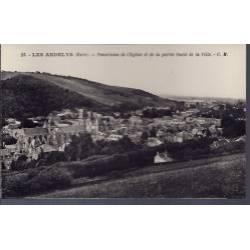 27 - Les Andelys - Panorama de l' église et de la partie Ouest de la Ville ...
