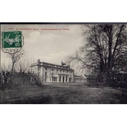 27 - Le Vaudreuil - Façade postérieure du château - Voyagé - Dos divisé...
