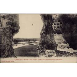 27 - Clachaloze - Intérieur de la Caverne, qui fut Jadis l'habitation d'un ...