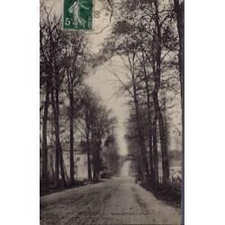 27 - Le Vaudreuil - Route de Paris à Rouen - Voyagé - Dos divisé...