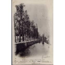 27 - Evreux - L' Iton au pont du bois Jollet - Voyagé - Dos non divisé...