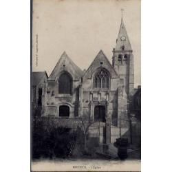 27 - Breteuil - L 'église - Non voyagé - Dos divisé...