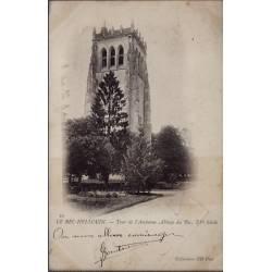 27 - Le Bec-Hellouin - Tour de l' ancienne Abbaye du Bec, XVeme siècle - Vo...