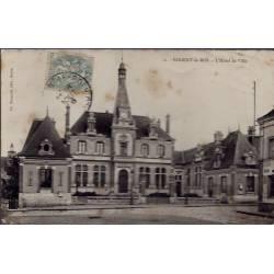 28 - Nogent-le-Roi - L' Hôtel de Ville - Voyagé - Dos divisé...