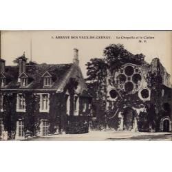 28 - Abbaye des Vaux-de-Cernay - La chapelle et le Cloître - Non voyagé - D...